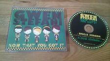 CD Pop Gwen Stefani - Now That You Got It (2 Song) Promo INTERSCOPE REC sc