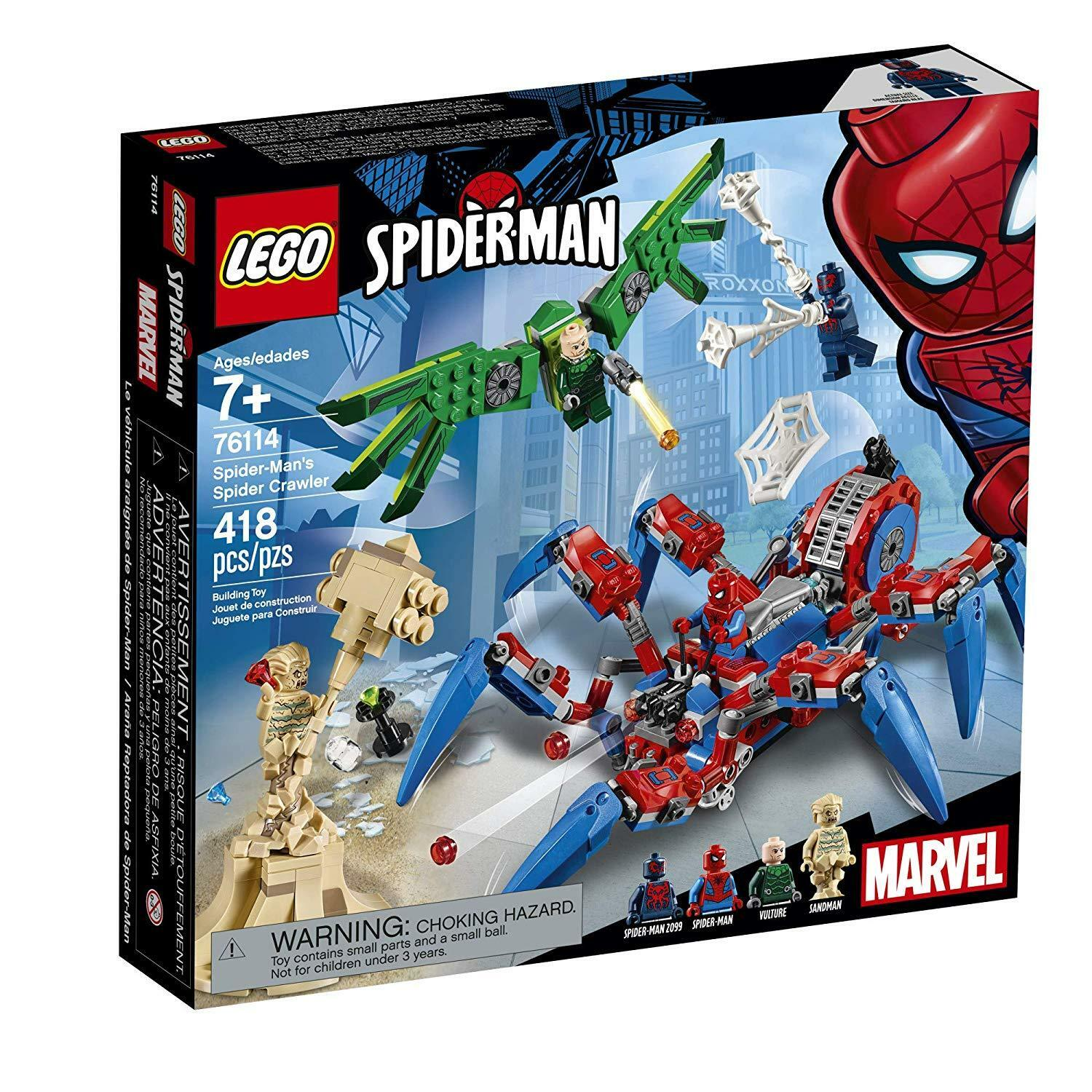 LEGO Marvel Super Heroes Spider-Man Spider Crawler 76114