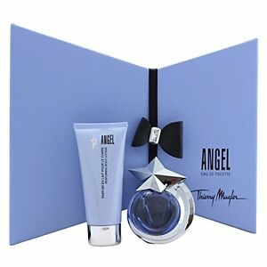 Thierry Mugler Set - Angel For Women 40ml Edt Spr + 100ml B/L + Bowtie