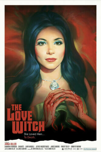 T465 Classic Movie The Love Witch Art Silk Poster