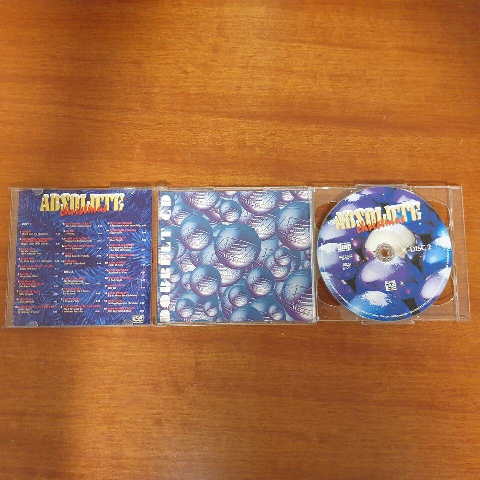 Diverse Kunstnere: ABSOLUTE Christmas (Dobbeltalbum med
