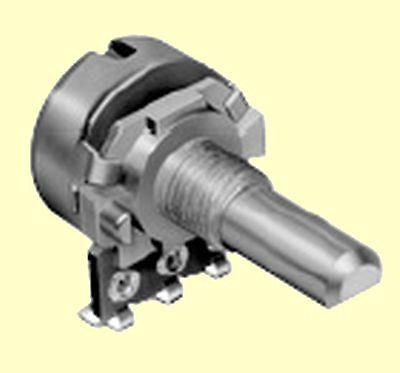 Poti Potentiometer linear  mono R16  220K 125mW  Achslänge 9mm D-Schnitt 1 pc
