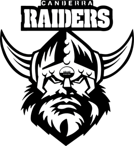 NRL - Canberra Raiders LASER CUT SIGN FOR MAN CAVE, BAR OR SHED | eBay