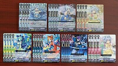 each card in 4x Crystal Melody Common /& Rare Playset CF Vanguard
