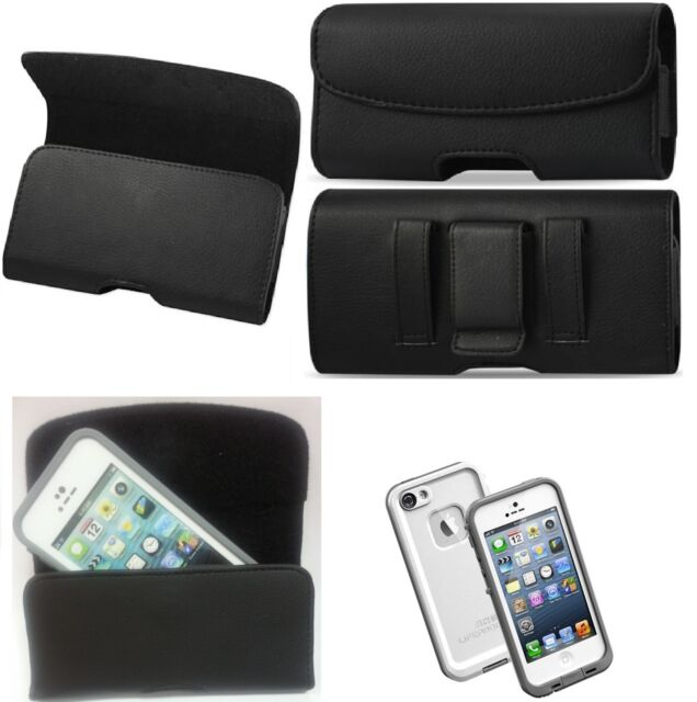 promo code 94a7c 92bcf for iPhone 7 Plus XXL Belt Clip Leather Holster Fits a Lifeproof Case on  Phone