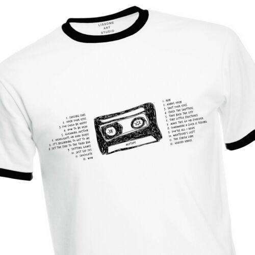 Mixtape T-Shirt of their 24 Greatest Hits Run Chasing Cars