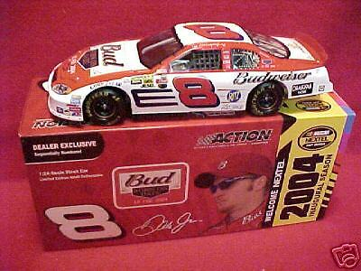 Brand New 2004 Dale earnhardtjr  8 Budweiser  né le date  1 24 Incentive voiture