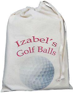 PERSONALISED-GOLF-BALLS-BAG-SMALL-NATURAL-COTTON-DRAWSTRING-BAG-Pink-design
