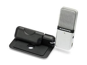 GOMIC-PORTABLE-SAMSON-GO-MIC-USB-CONDENSER-MICROPHONE-BRAND-NEW-with-WARRANTY