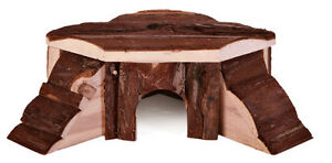 Trixie-Natural-Wooden-Thordis-Corner-Pet-House-Small-amp-Large