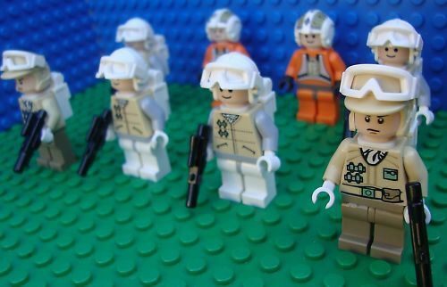 Lego Star Wars Hoth Battle Snow Rebel Troopers Troopers Troopers Army minifigs NEW  803bc6