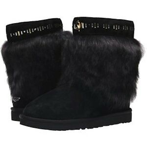 Image is loading UGG-Australia-Women-039-s-Black-Vilet-Crystal-