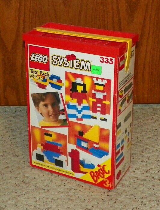 consegna veloce LEGO 335 - Universal costruzione Set    Basic - Basic costruzione Set - 1990 - VERY RARE  nelle promozioni dello stadio