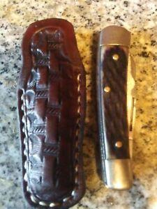 Custom-Leather-Pocket-Knife-Slip-Case-Sheath-Handmade-in-Texas-3-inch