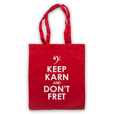 FäHig Keep Karn And Don't Fret Mick Karn Of Japan Unofficial Tote Bag Life Shopper Produkte Werden Ohne EinschräNkungen Verkauft