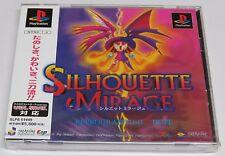 Silhouette Mirage Reprogrammed Hope PS1 PlayStation Japan JPN Brand NEW Sealed