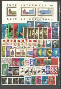 DDR-1965-gestempelt-kompletter-Jahrgang