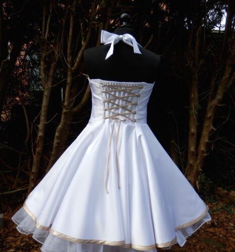 Party 50's Dress Bridal Confirmation Wedding Made Petticoat Custom Jugendweihe Dress tdqgx