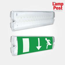 eterna emled3nm led bulkhead emergency light fitting non