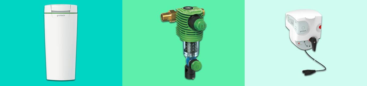Aktion ansehen Grünbeck Wasseraufbereitung Enthärtungsanlagen & Zubehör zu Top-Preisen