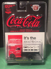 M2 MACHINES 52500-RW01H COCA COLA 1970 CHEVROLET C60 TRUCK 1//64 RED