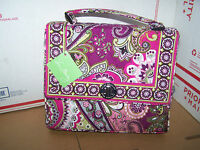 Vera Bradley Very Berry Paisley Julia (Pink Purse Shoulder Bag) NEW