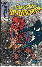 AMAZING SPIDERMAN 258...NM-...1984...Secret of The Black Costume...Bargain!