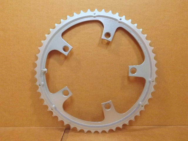 New-Old-Stock Shimano SuperGlide (Second Generation) Chainring...53T   130mm BCD
