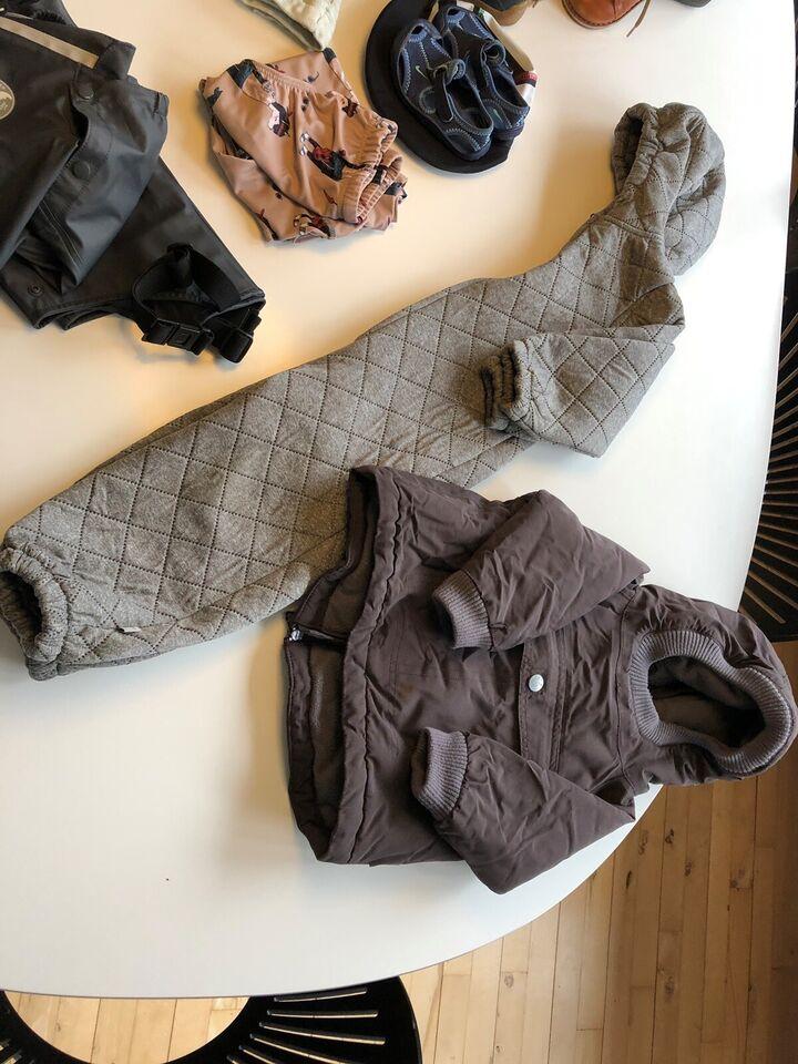 Blandet tøj, Regntøj, jakke