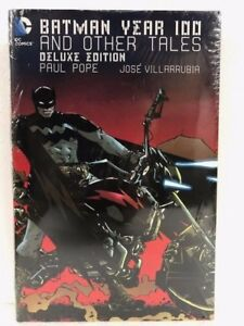 DC-BATMAN-YEAR-100-amp-OTHER-TALES-Deluxe-Hardcover-HC-NEW-MSRP-30
