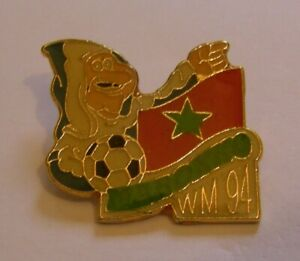 WORLD-CUP-94-USA-SOCCER-MOROCCO-Limited-Edition-500-vintage-pin-badge-Z8J