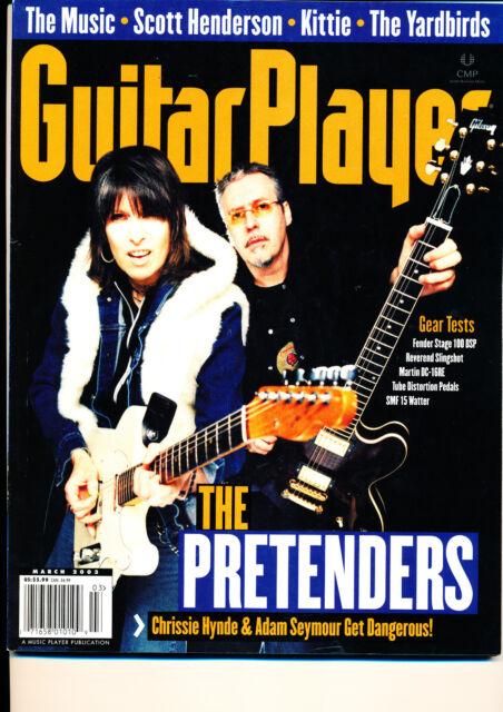 Guitar Player March 2003 The Pretenders Chrissie Hynde Scott Henderson