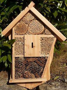 Insectos hotel XXXL 84 x 62 cm masivholz made in Germany en calidad superior 5-08  </span>
