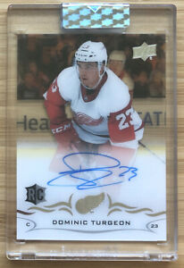 2018-19-Upper-Deck-UD-Clear-Cut-Auto-Dominic-Turgeon-Autograph-Rookie-Card-RC