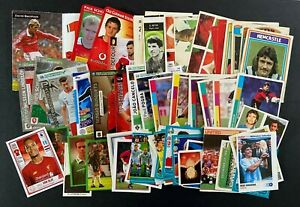 Job Lot of Football Cards and Stickers - Qty 65