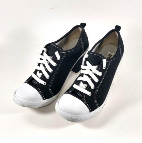 Soda Womens Converse All Star Style Chunky Heel 9.