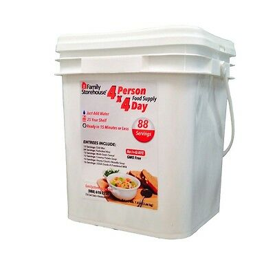 4-Person 4-Day Emergency Food Supply