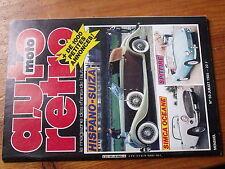 $$ Revue auto moto retro N°59 Simca Oceane  Reyonnah  Auburn 851  Triumph