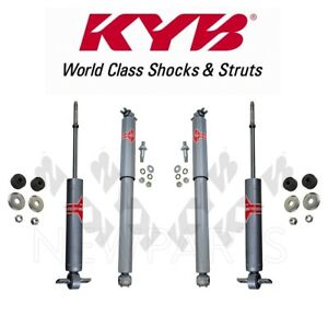 Fits Cadillac Escalade V8 GAS OHV KYB Excel-G Front and Rear Shock Absorbers Kit