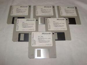 Microsoft-Works-PC-1991-3-5-floppy-disks