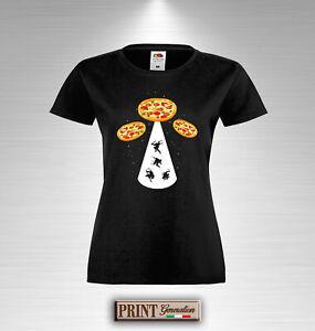 Stromdiebe shirt T Chick Ufo Ausländern Außerirdische Licht Sommer Bündel Pizza 6pI7ZOqIwx