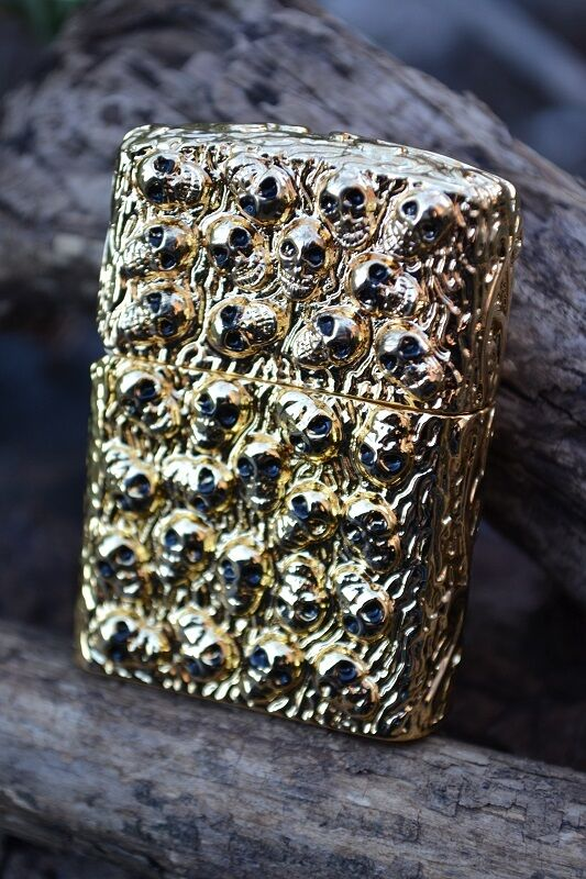Japanese Zippo Lighter - Japan - Skull Jacket - City of ... Zippo Lighter Skull Designs