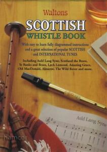 Scottish Whistle Book Tin Whistle Music Book-afficher Le Titre D'origine 100% D'Origine