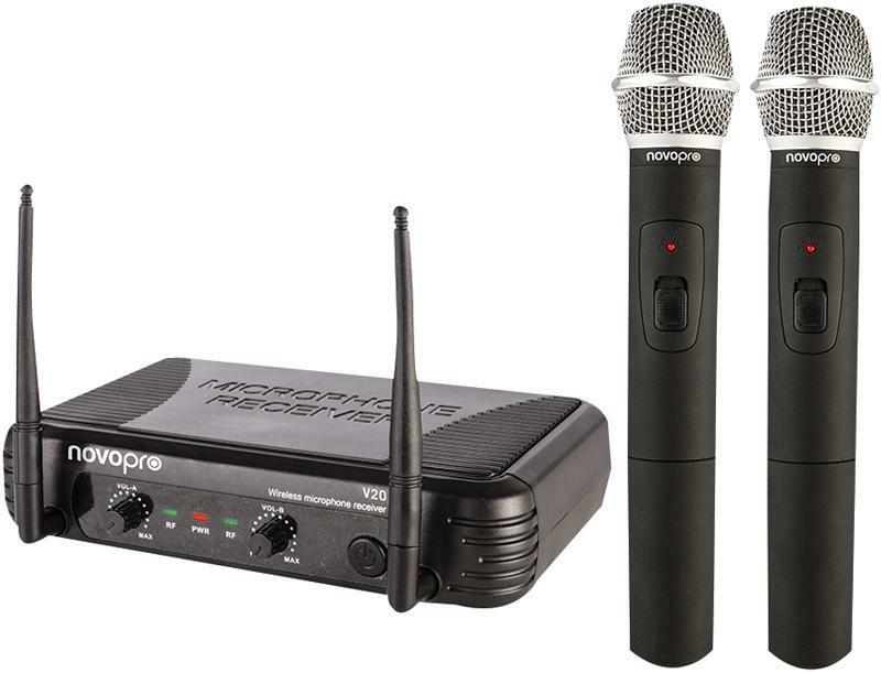 MICROPHONE SYSTEM TWIN H H VHF - V20