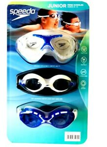 a6248bc2ae6 Image is loading 2018-Design-3x-Speedo-Unisex-Junior-Kids-Swimming-