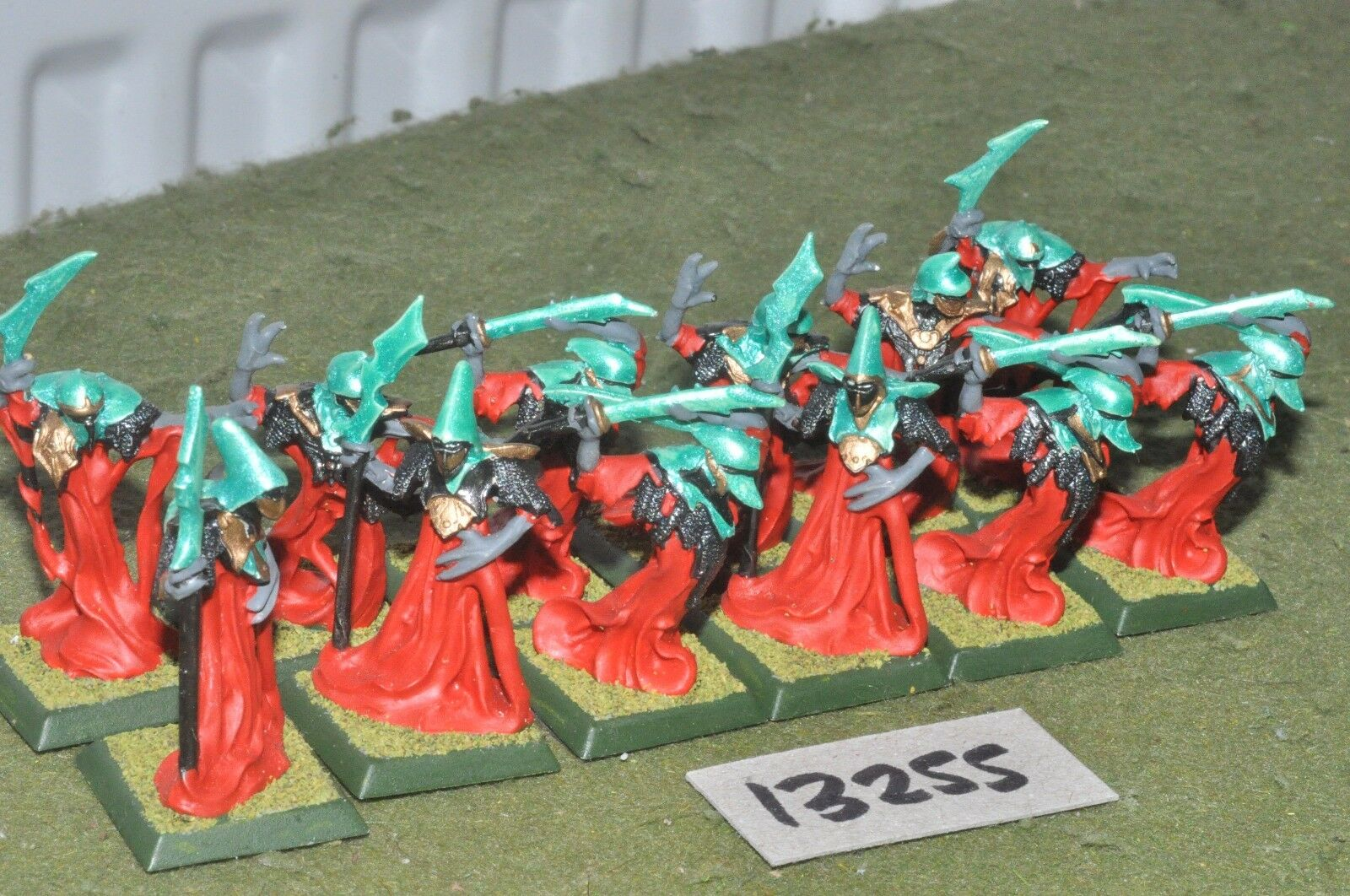 25mm japanese clan wars RPG 12 figures  (13255)