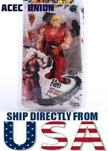 U-S-A-vendeur-Rouge-NECA-Ken-7-034-Action-Figure-Jouet-Street-Fighter-IV