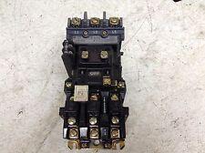 Allen Bradley 509-BOD Size 1 Contactor Starter 509BOD 115-120 VAC Coil (TB)