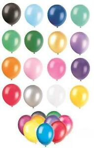 24-x-12-034-Pearlised-Metallic-Latex-Balloons-Party-ALL-COLOURS