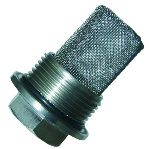TRIUMPH CRANKCASE FILTER ASSEMBLY 650//750 UNIT 69-82 STAINLESS 70-9336S